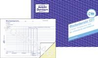 Avery-Zweckform Heti jelentés nyomtatvány 1311 DIN A5 fekvő Lapok száma: 100 Avery-Zweckform