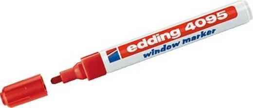 Ablakfestő, piros, Edding Window/4-4090002