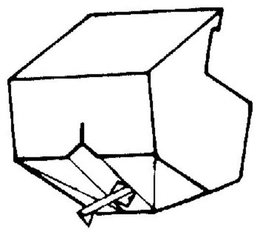 Gyémánt hangszedő tű ST 29D/N51