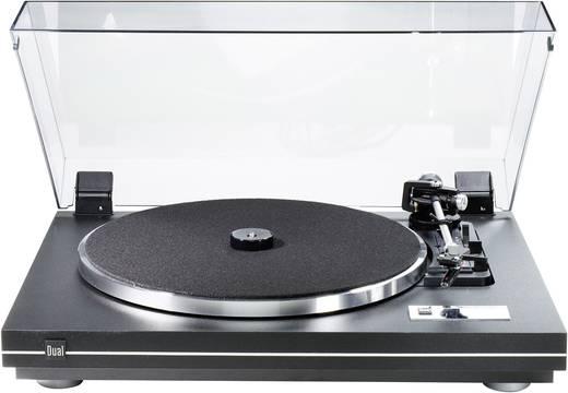 Dual CS 455-1 szíj meghajtású lemezjátszó fekete színben