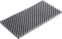 Hullámos hangszigetelő habszivacs, kemény, 1000 x 500 x 60 mm