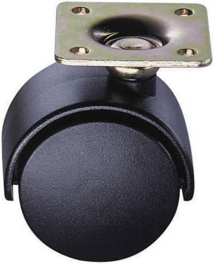 Bútorgörgő, forgó kerékkel Ø 40 mm McCrypt 304447