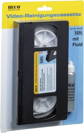 VHS Video tiszítókazetta tisztító folyadékkal Beco 302.09
