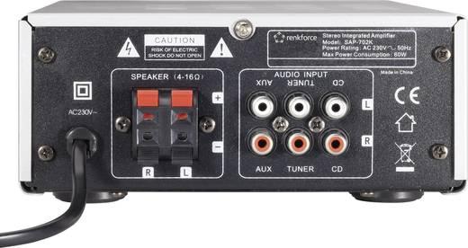 Mini erősítő, Renkforce SAP-702; Kimeneti teljesítmény:2 x 20 W
