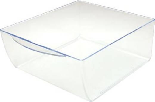Irodai rendszerező, tároló Cube Üveg , Átlátszó 350998 Deflecto