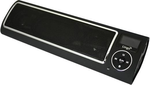 Akkus, hordozható hangfal és FM rádió, USB és memóriakártya lejátszással, Lingo Xtatic v2