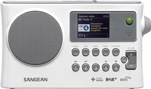 DAB-, URH- és internetrádió, WLAN, fehér, SANGEAN WFR-28C