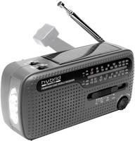 Dinamós, napelemes világvevő rádió, Muse MH-07 DS (MH 07 DS) Muse