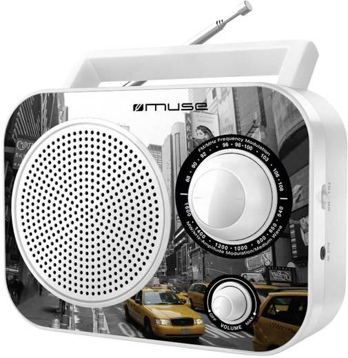 Asztali rádió, hordozható táskarádió Muse MA-60 NY