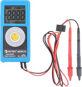 Digitális zsebmultiméter, gyengeáram mérő műszer, 600V AC/DC max.2mA AC/DC Metrel MD 9010 Metrel
