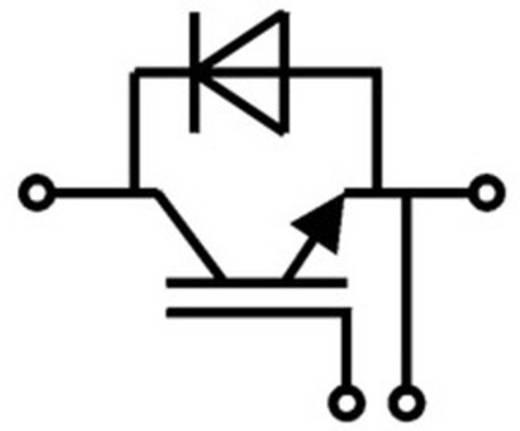IGBT modul, ház típus: SEMITRANS® 4, I(C) 612 A, U(CES) 1200 V, SEMITRANS® Semikron SKM400GA12V