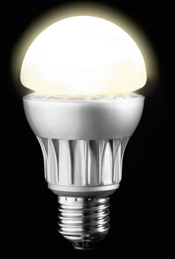 LED-es fényforrás, E27, 8 W, melegfehér, dimmelhető, izzólámpa forma, sygonix High LED
