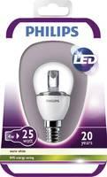 LED (egyszínű) E14 Csepp forma 4 W = 25 W Melegfehér (Ø) 44 mm EEK: A (A++ - E) Philips Lighting 1 db Philips Lighting