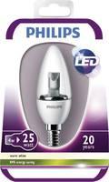 LED (egyszínű) E14 Gyertya forma 4 W = 25 W Melegfehér (Ø) 35 mm EEK: A (A++ - E) Philips Lighting 1 db Philips Lighting