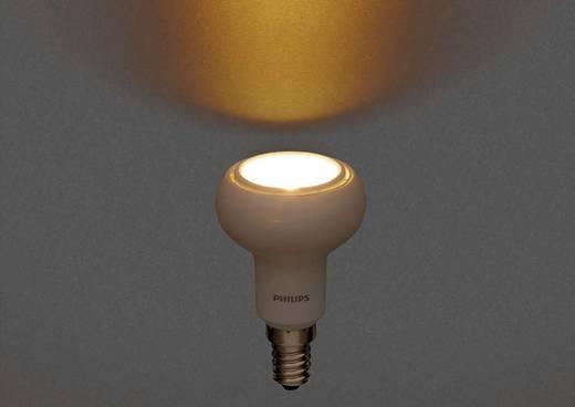 LED Philips, dimmelhető, 230 V E14 4 W = 40 W Melegfehér, tartalom: 1 db