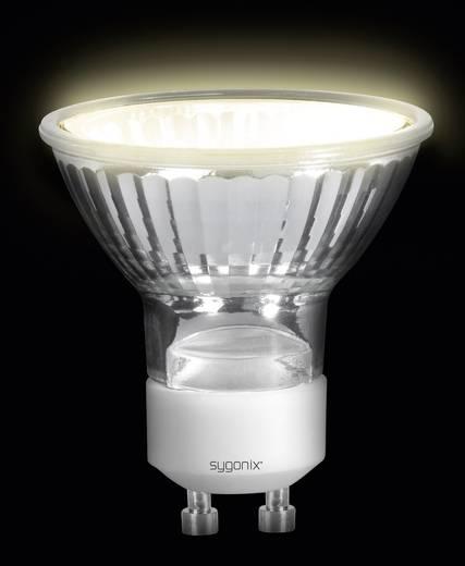 Eco reflektoros halogén fényforrás, GU10, 50 W=60 W, melegfehér, Sygonix 28992C