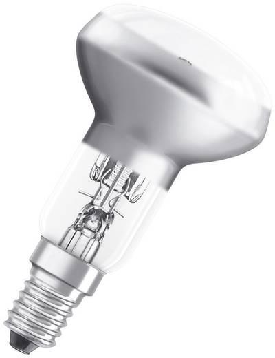 Halogén izzó E14 46W=60W melegfehér gombaforma, dimmelhető, OSRAM Eco