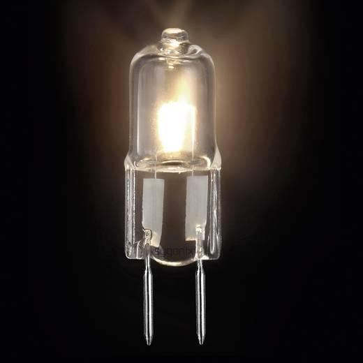 Halogén izzó G6.35 35W=42W, átlátszó, Sygonix Eco melegfehér