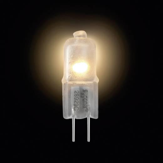 Halogén izzó G4 5W=7W melegfehér, dimmelhető, Sygonix Eco