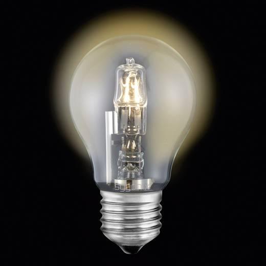 Eco halogén fényforrás, E27, 28 W=40 W, melegfehér, hagyományos izzó forma, Sygonix 28922X