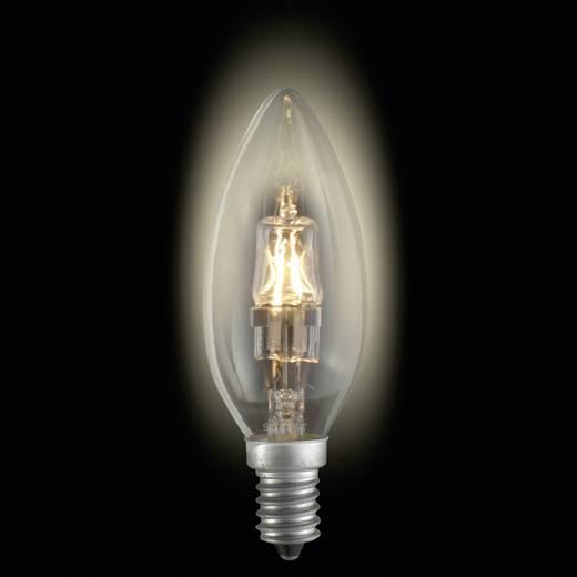 Nagyfeszültségű halogén izzó E14 18 W melegfehér sygonix