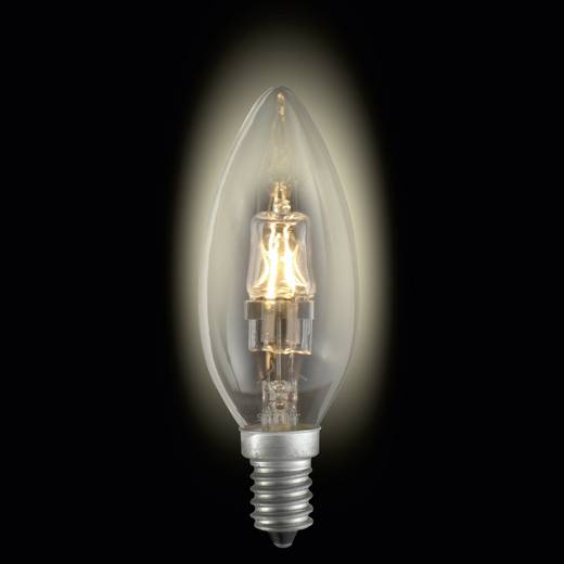 Nagyfeszültségű halogén izzó E14 28 W melegfehér sygonix
