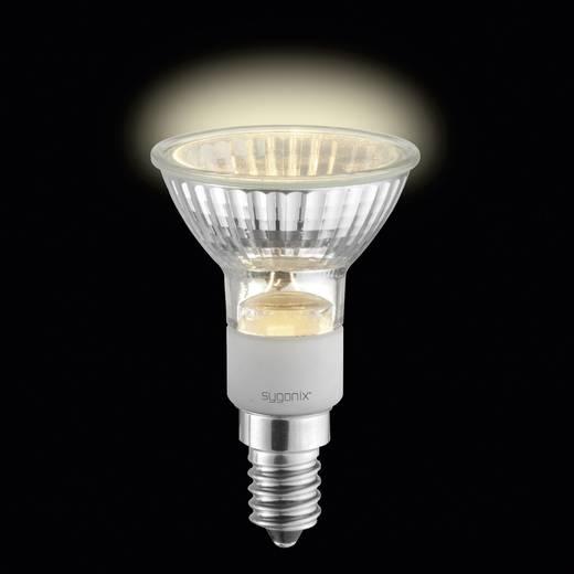 Eco halogén fényforrás, E14 20W=25W, Sygonix Melegfehér