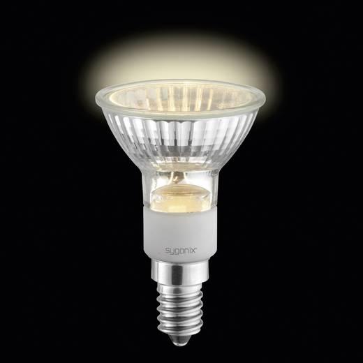 Eco halogén fényforrás, E14 50W=60W, Sygonix Melegfehér