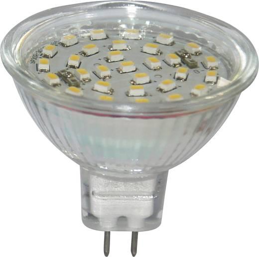 LED-es izzó GU5.3 1,7W=15W meleg fehér reflektor MR16