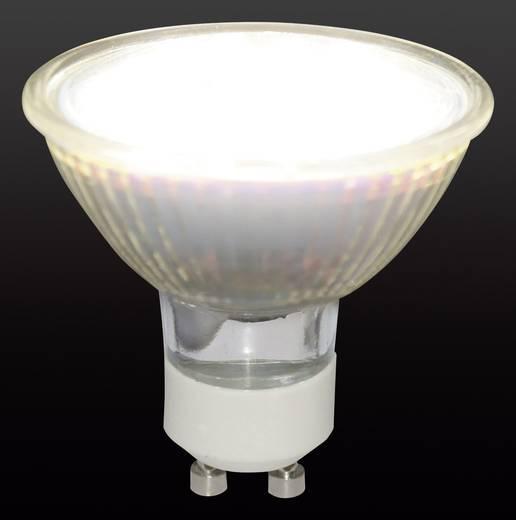 LED-es izzó GU10 1.3W=15W meleg fehér reflektor Conrad