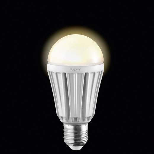 LED-es izzó HIGH LED E27 12W=68W melegfehér izzólámpa forma, dimmelhető