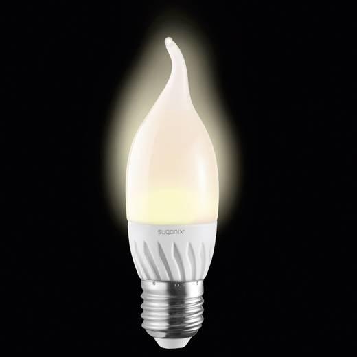 LED-es fényforrás, E27 3W=25W, melegfehér, gyergya forma, Keramik