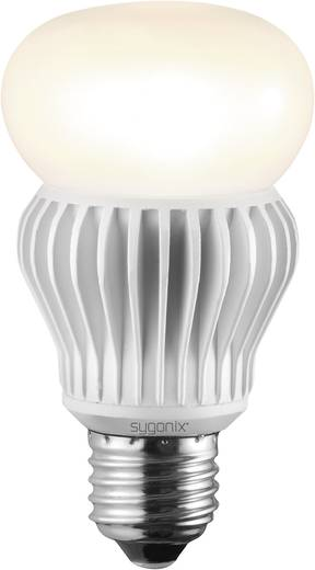 LED-es izzó HIGH LED E27 10.5W=60W meleg fehér, izzólámpaforma