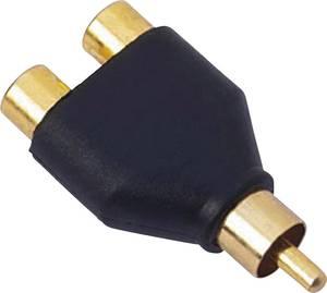 RCA adapter Sinuslive Y1M [1x RCA dugó - 2x RCA csatlakozóaljzat] Sinuslive