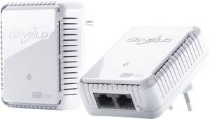 Powerline Starter Kit, konnektoros internet átvivő készlet 500 Mbit/s, Devolo dLAN 500 duo (9102) Devolo