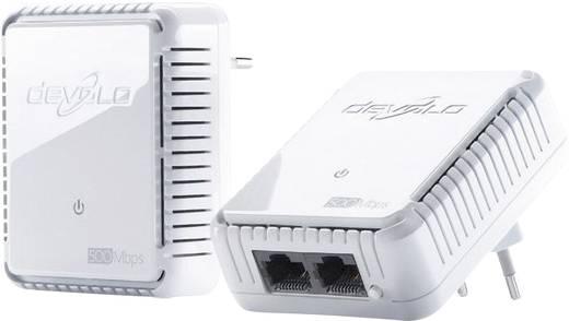 Powerline Starter Kit, konnektoros internet átvivő készlet 500 Mbit/s, Devolo dLAN 500 duo