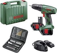 Bosch PSR 12 akkus fúrógép és csavarhúzógép készlet kofferben 12V 1.2 Ah NiCd + 2 tartalék akku Bosch