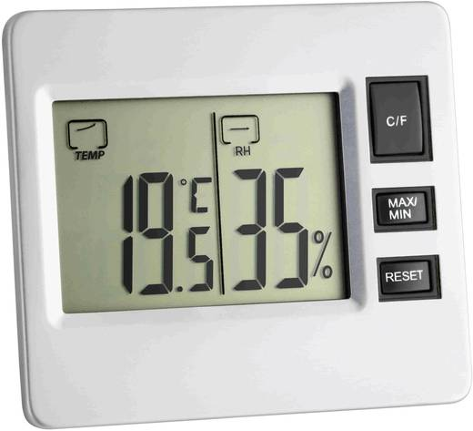 Digitális belső hőmérő és páratartalom mérő, TFA 30.5028