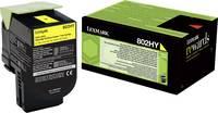 Lexmark Toner 802HY CX410 CX510 80C2HY0 Eredeti Sárga 3000 oldalak (80C2HY0) Lexmark