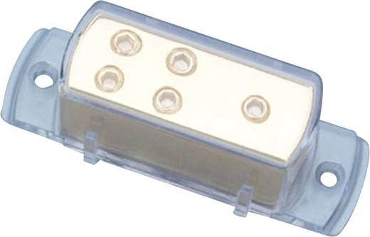 Áramelosztó blokk 25 mm²-es aranyozott