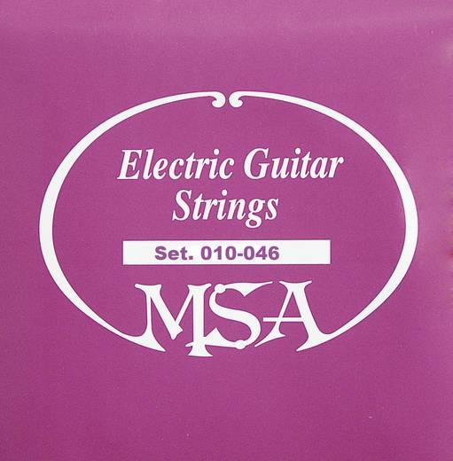 MSA E-gitár húrok, 010 - 046