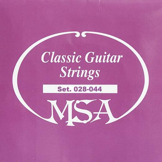 MSA akusztikus gitár neylon húrok, 028 - 044