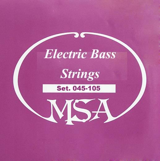 MSA E-basszusgitár húrok, 045 - 105