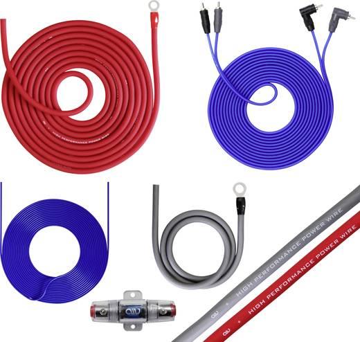 Autó HiFi végfok csatlakozó készlet 10 mm² Bull Audio 35C940