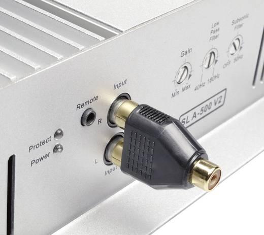 Highend RCA adapter, 2 x RCA dugó/1 x RCA hüvely, Sinus Live
