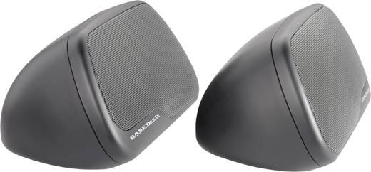 Kalaptartóra rakható autós hangszóró, 3 utas, triaxiális 120W-os Basetech CPS-890
