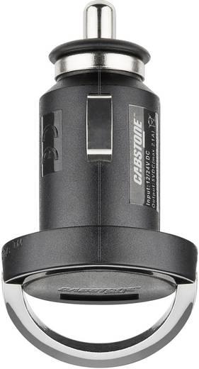 Szivargyújtós USB-s töltő 12/24V 2.1A Cabstone