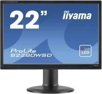 Iiyama B2280WSD-B1 LED monitor (felújított) 55.9 cm (22 coll) 1680 x 1050 pixel WSXGA+ 5 ms DVI, VGA TN LED Iiyama