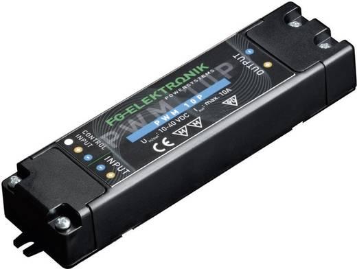 LED dimmer 400 W 0-10 A, bemenet: 12-40 V/DC, FG Elektronik PWM 10 P
