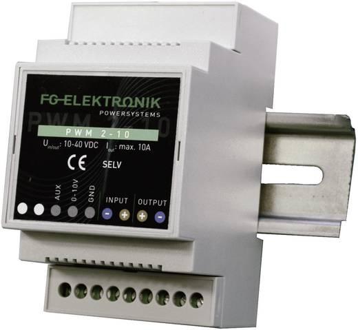 LED dimmer kalapsínre 400 W 0-10 A, bemenet: 10-40 V/DC, FG Elektronik PWM 2-10